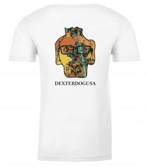 Back View of DexterDogUSA Punta Cana Tshirt