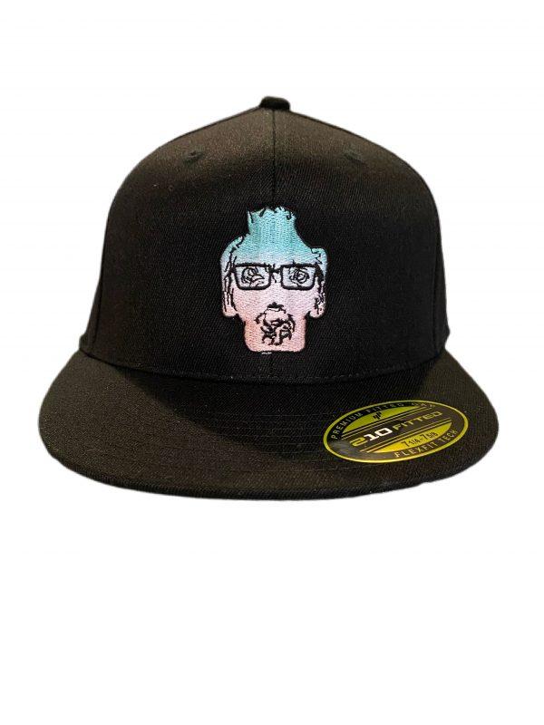 Black Embroidered DexterDogUSA Logo Hat