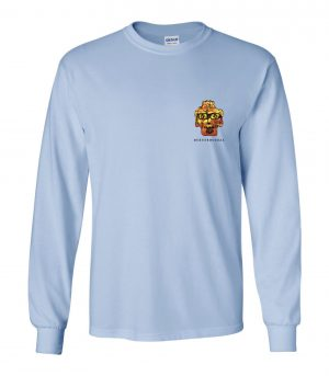 Front view of DexterDogUSA Live Love Dance Long Sleeve Tee