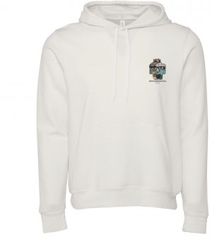 Front view of DexterDogUSA Local Hoodie
